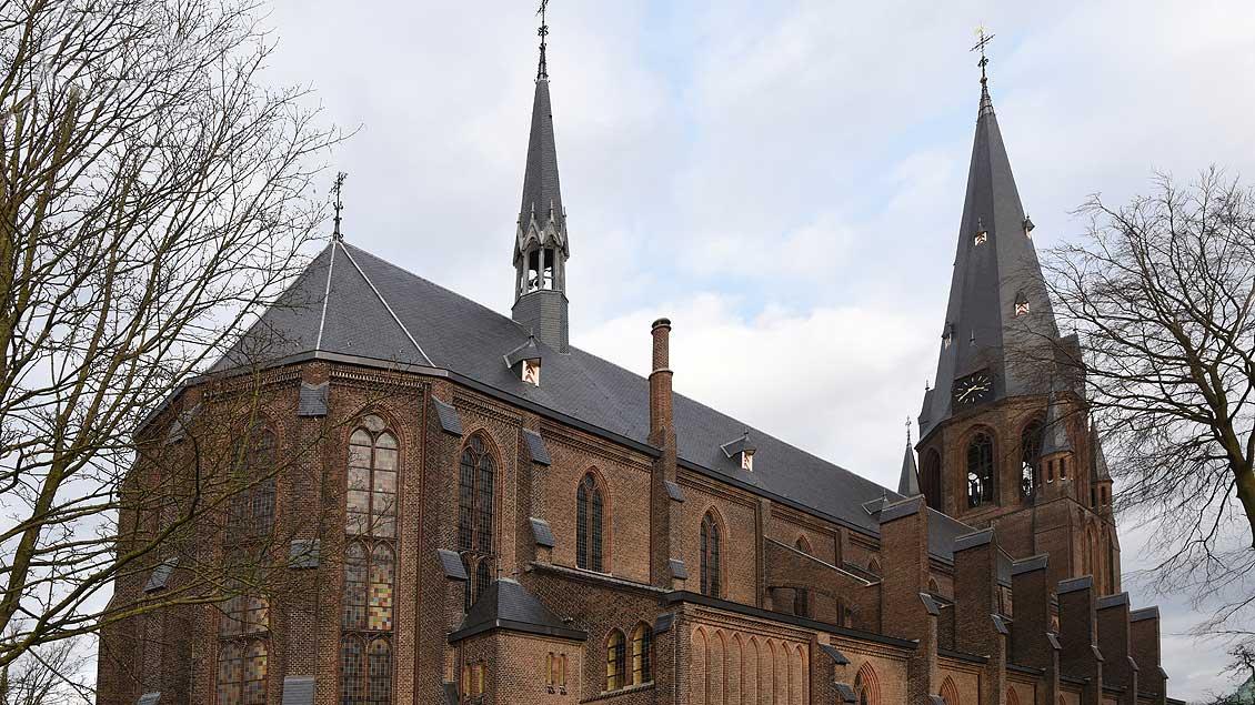 Die Bauzeit der neugotischen Hallenkirche betrug nur zwei Jahre. | Foto: Michael Bönte