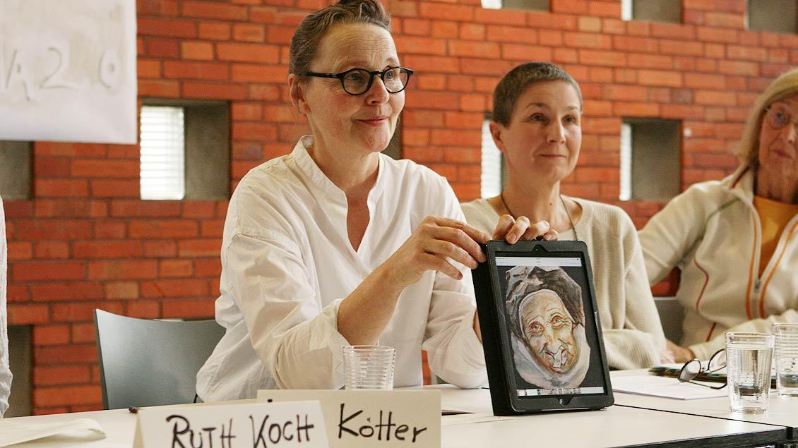 Künstlerin Lisa Kötter