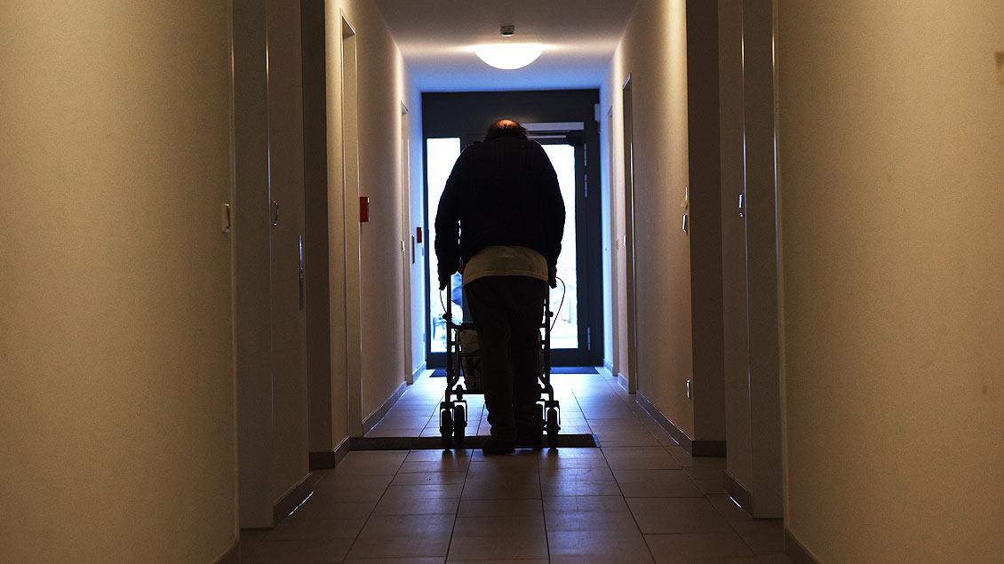 Auf dem Weg aus der Küche in das eigene Refugium. | Foto: Michael Bönte