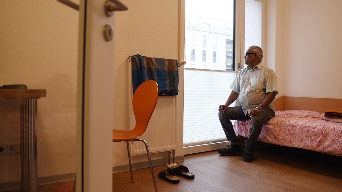 Eine eigenes Zimmer ist für viele Bewohner eine neue Erfahrung. | Foto: Michael Bönte