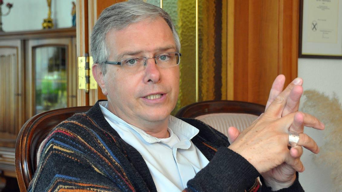 Bischof Johannes Bahlmann, Brasilien.