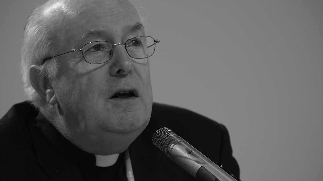 Kardinal Goddfried Danneels beim Katholikentag 2006 in Saarbrücken.