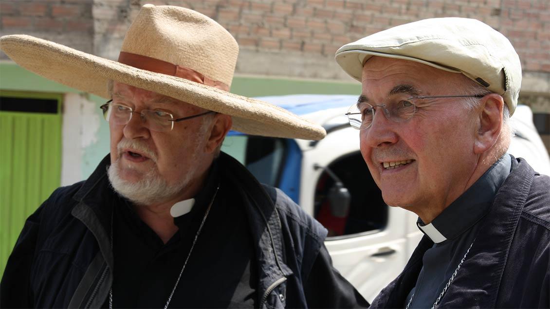 Bischof Genn in Peru