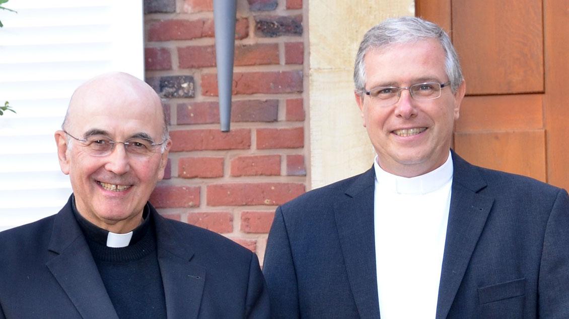 Bischof Felix Genn und Bischof Johannes Bahlmann