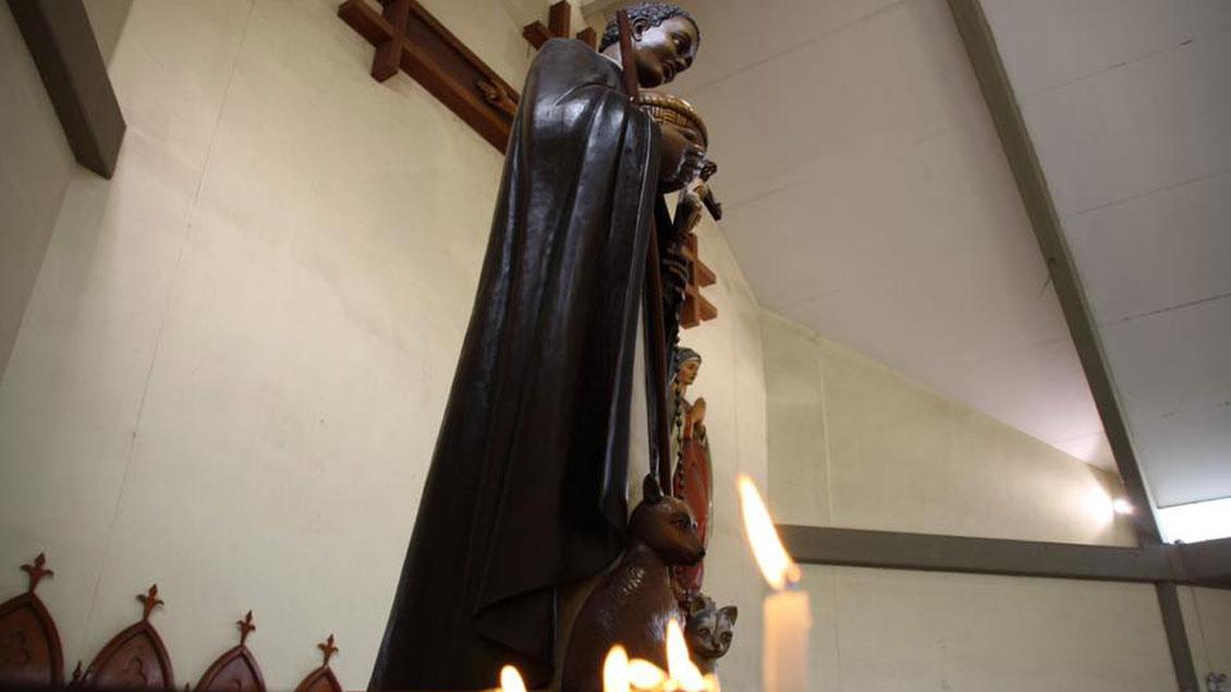 In einem Gottesdienst in der Pfarrei San Andres in Choisaca hat Bischof Norbert Strotmann Münsters Bischof Felix Genn begrüßt.