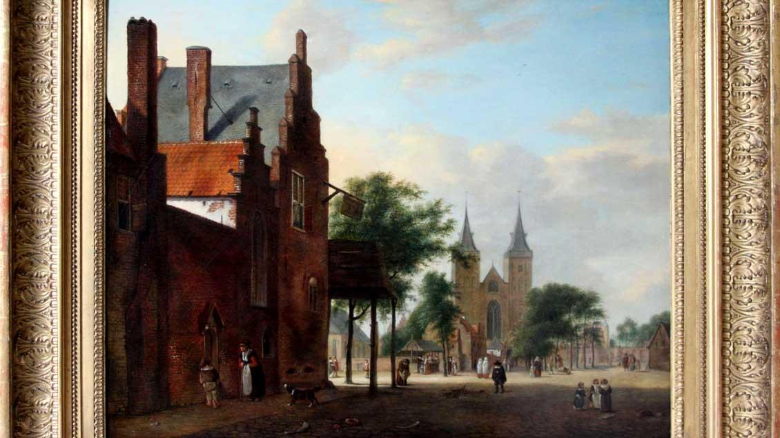 """""""Der Marktplatz"""" von Jan van der Heyden"""""""