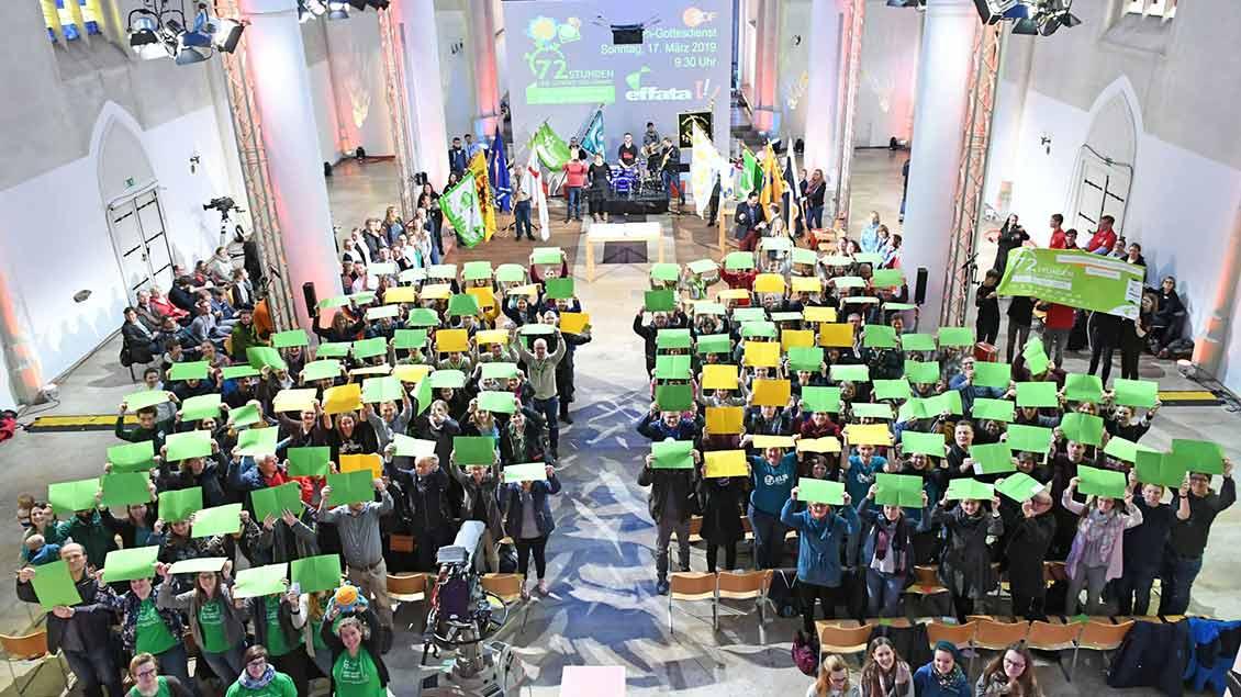 """ZDF-Gottesdienst in Jugendkirche """"Effata"""""""