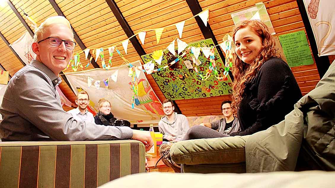 Die Gruppenleiter der DPSG Tecklenburg freuen sich über Verstärkung und neue Jugendleiter.