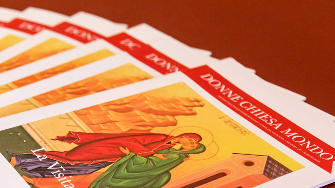 Ausgaben des vatikanischen Frauenmagazins