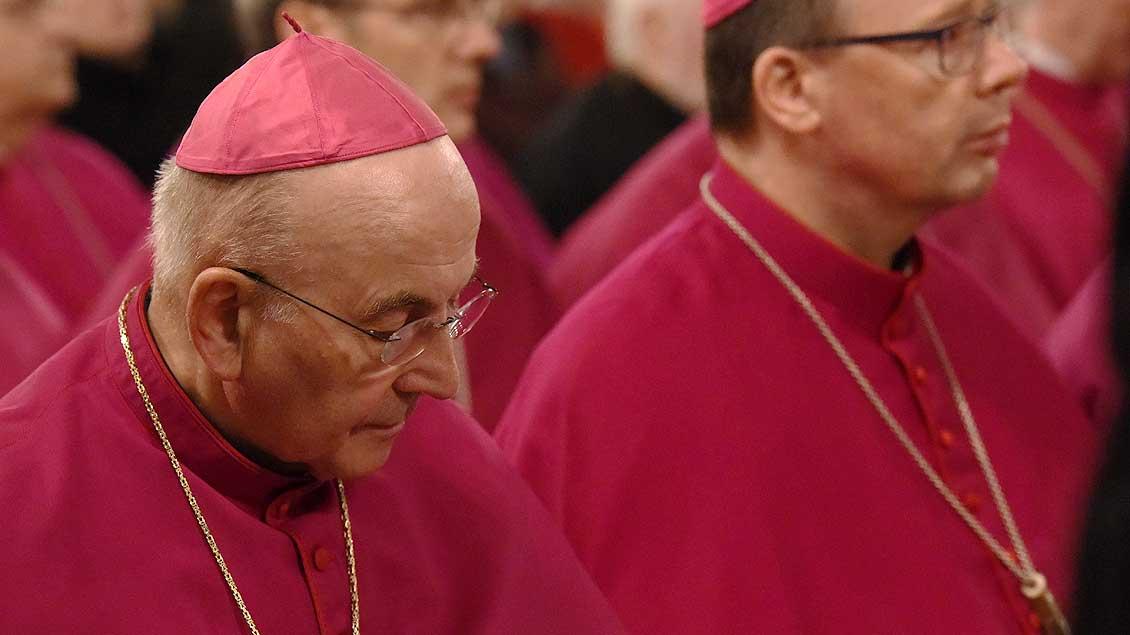 Bischof Felix Genn Foto: Michael Bönte