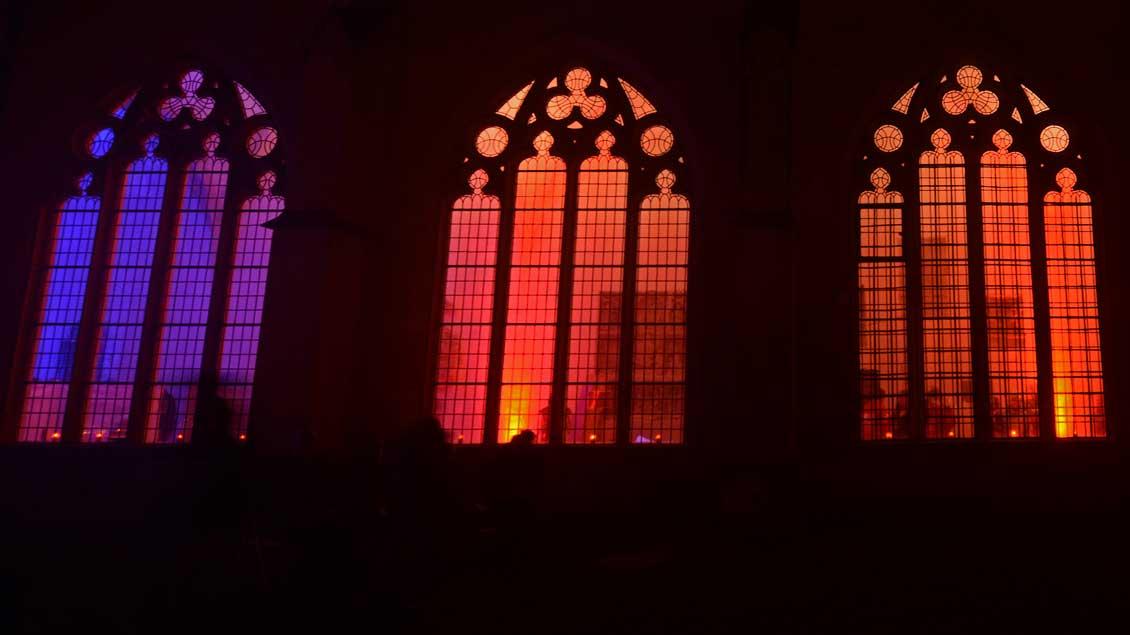 Licht im Dom in Münster