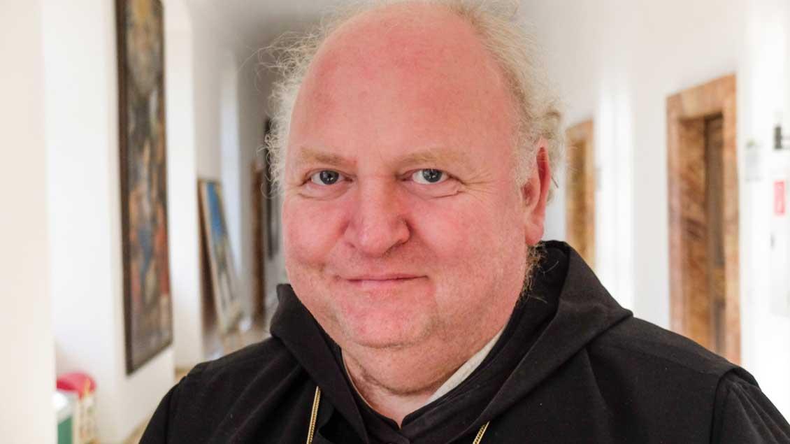 Abt Johannes Schaber in Ottobeuren