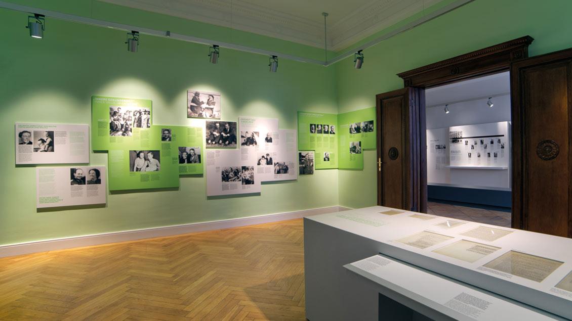 Die Dauerausstellung in der Gedenkstätte Deutscher Widerstand widmet sich auch dem Kreisauer Kreis, einer bürgerlichen Widerstandsgruppe in der NS-Zeit.