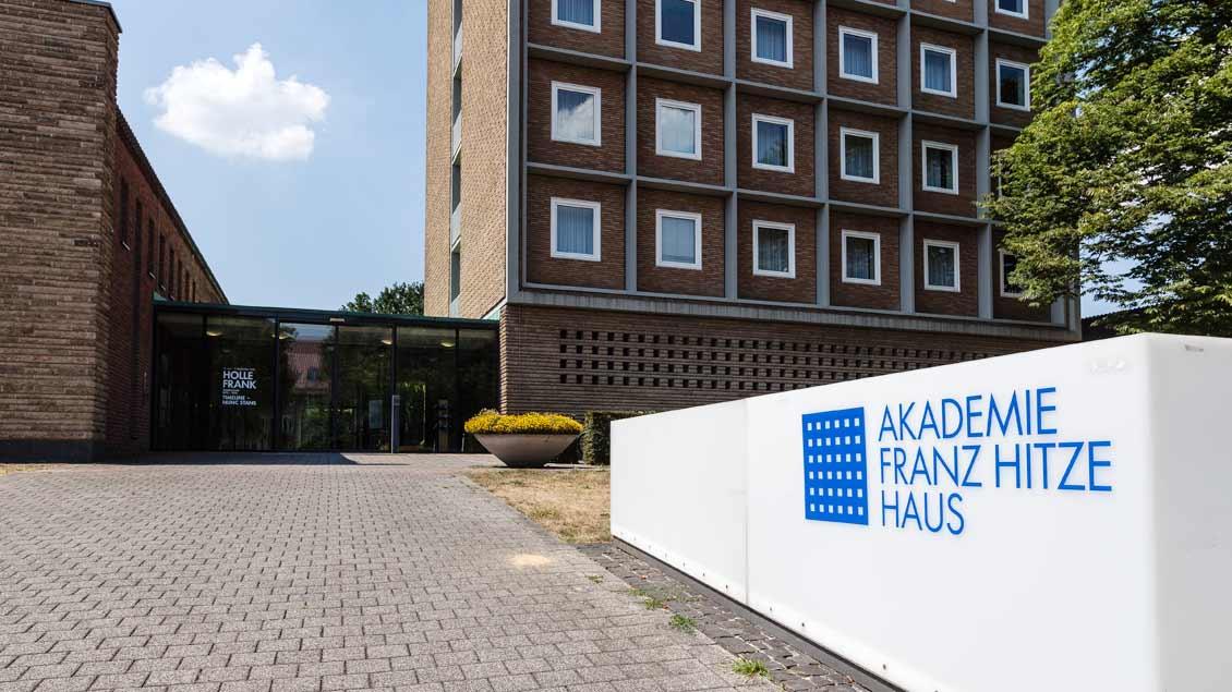 Eingang zum Framz-Hitze-Haus in Münster