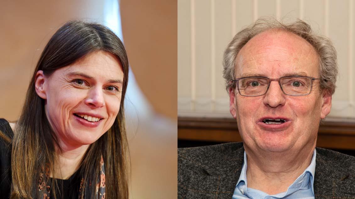 Christiane Florin und Hubert Wolf