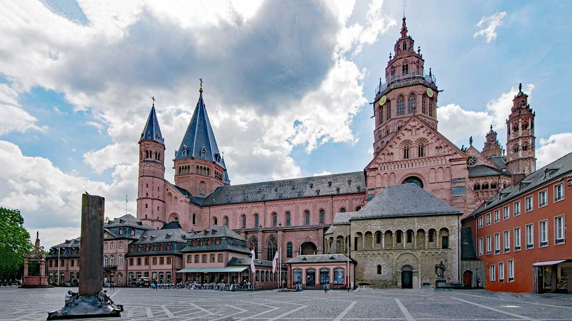 Blick auf den Mainzer Dom Foto: Pixabay