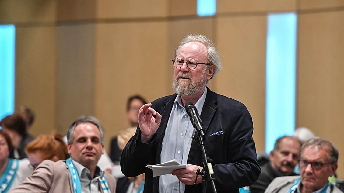 Wolfgang Thierse kritisiert Juso-Chef Kühnert Foto: Harald Oppitz (KNA)