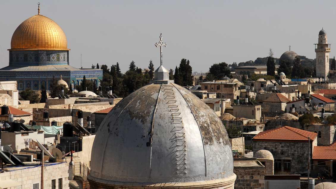 Panoramablick auf Jerusalem