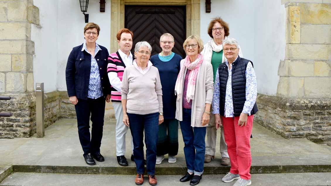 Die Organisatorinnen in Wolbeck