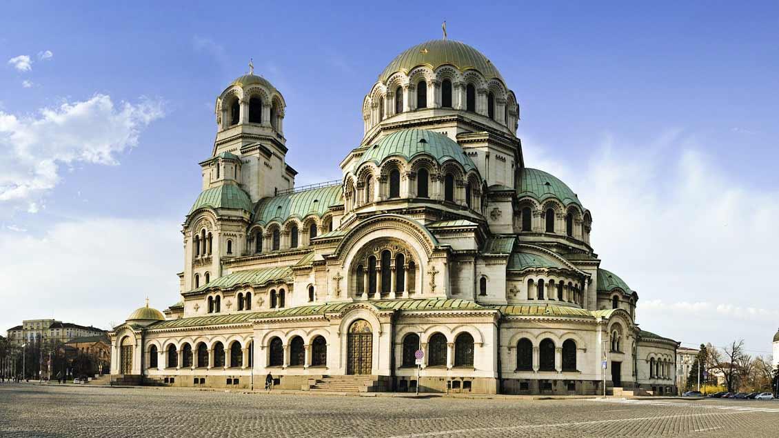 Die orthodoxe Hauptkirche in Sofia