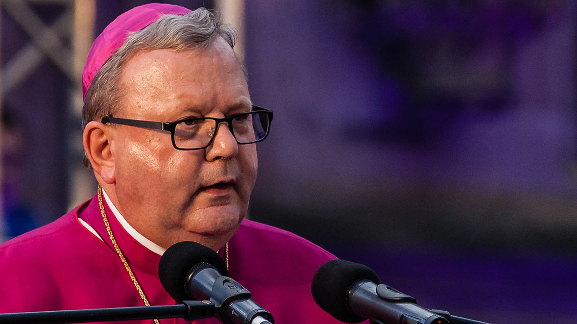 Der Osnabrücker Bischof Franz-Josef Bode