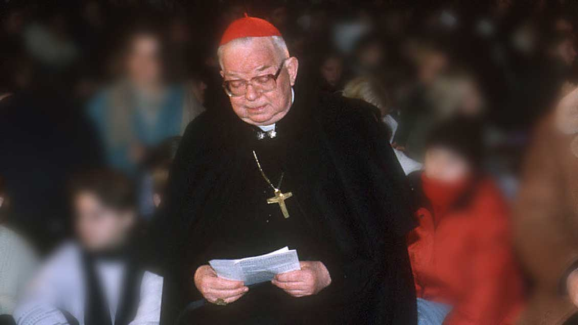 Kardinal Henryk Gulbinowicz 1995 Archiv-Foto: KNA