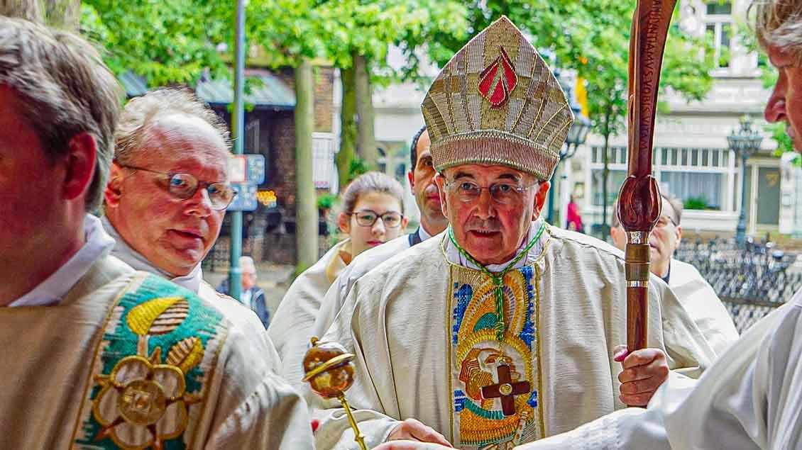 Bischof Felix Genn Foto: Anke Gellert-Helpenstein (pbm)