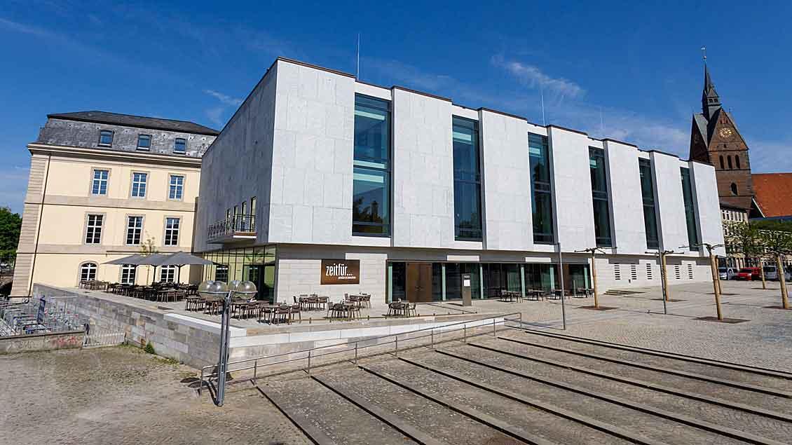 Das Gebäude des niedersächsischen Landtags in Hannover