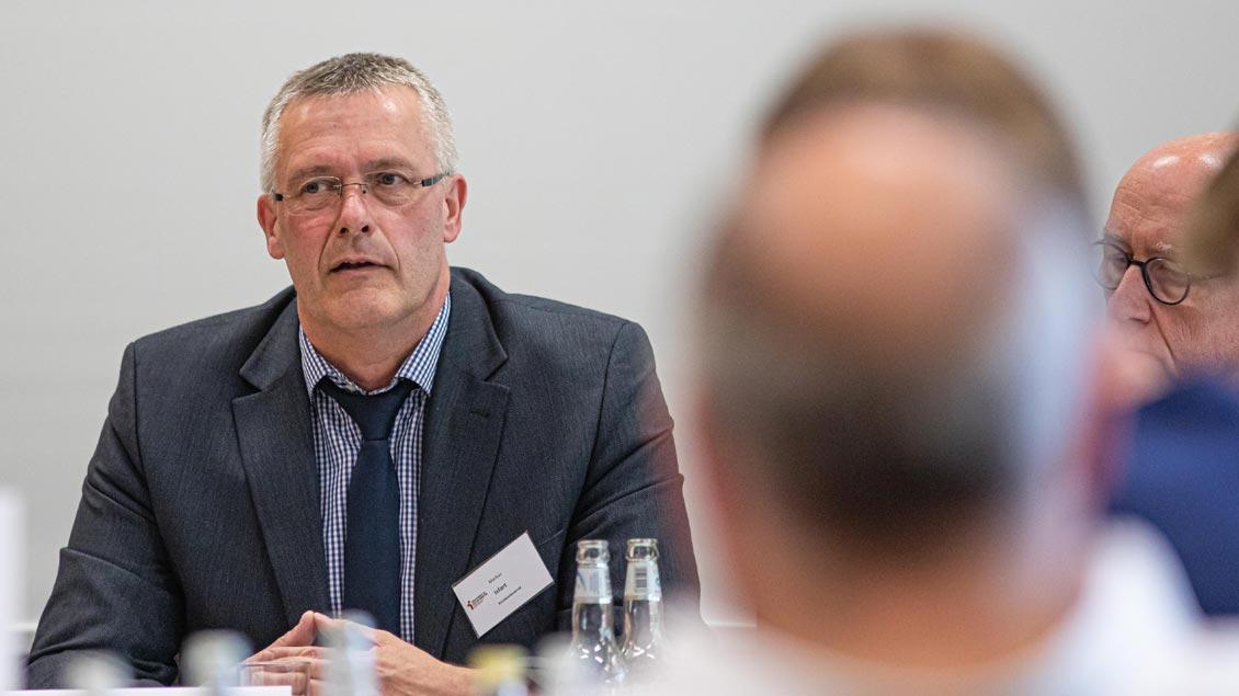 Markus Isfort, Leiter der Gruppe Bistumshaushalt und Kirchensteuerverwaltung im Generalvikariat