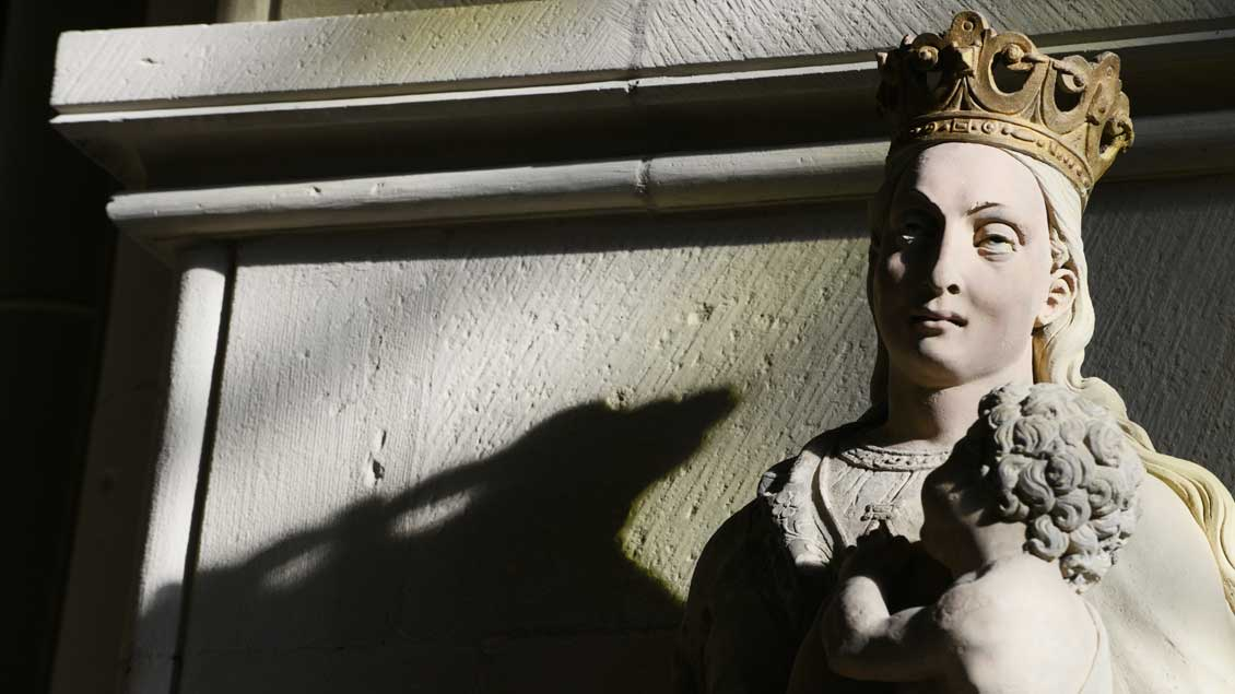 Marienfigur im Paulusdom in Münster
