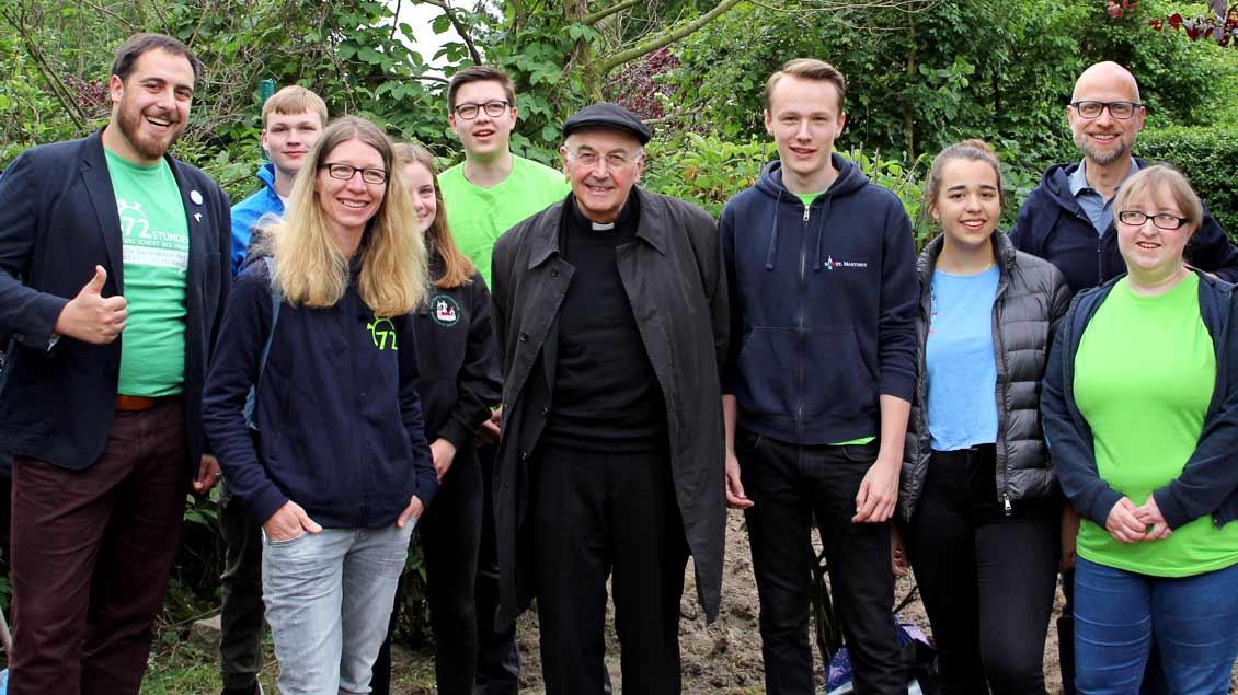 72-Stunden-Aktion: Chillen mit Bischof Genn in Greven