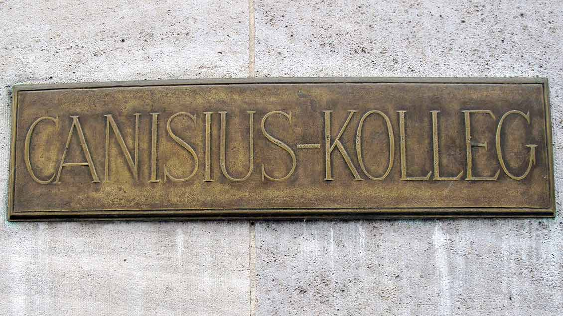 Türschid des Canisius-Kollegs