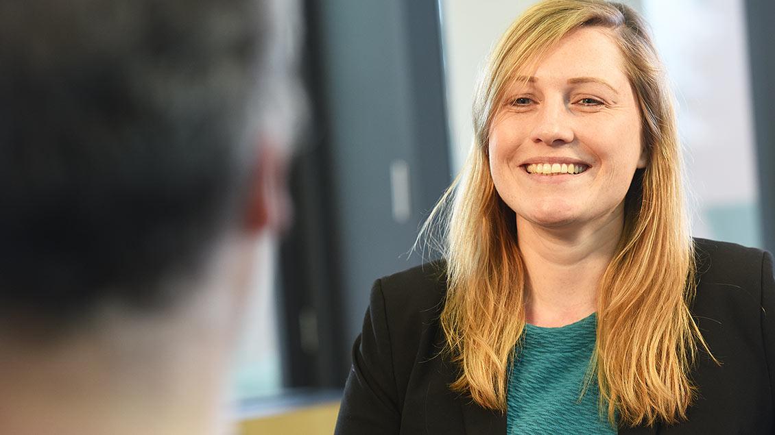Kerstin Stegemann im Gespräch mit Kirche-und-Leben.de.