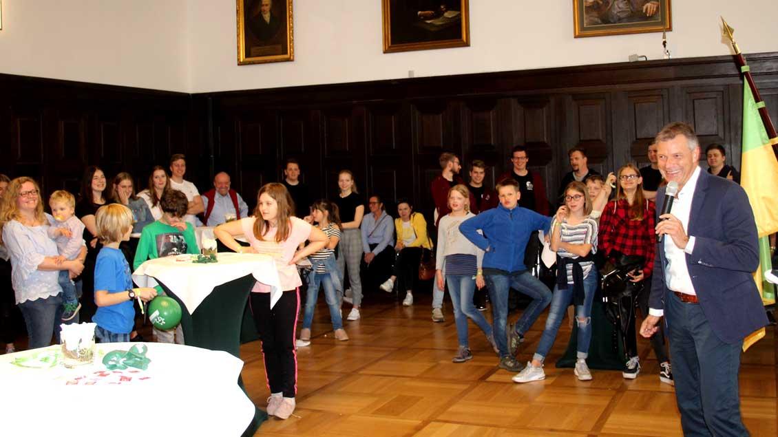 72-Stunden-Aktion: Startschuss mit Bürgermeister von Recklinghausen
