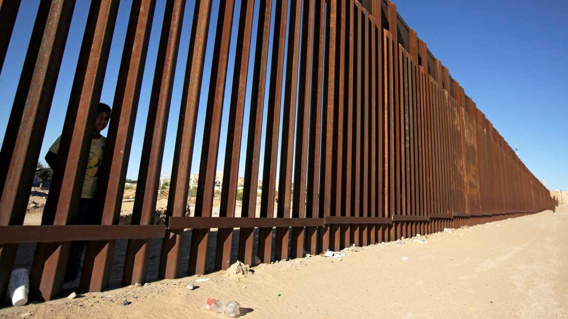 Grenzbarrieren der USA zu Mexiko Foto: José Luis Gonzalez (Reuters)