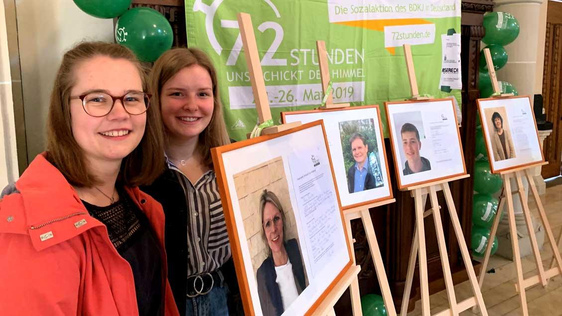 72-Stunden-Aktion: Gesichtergeschichten in Schermbeck