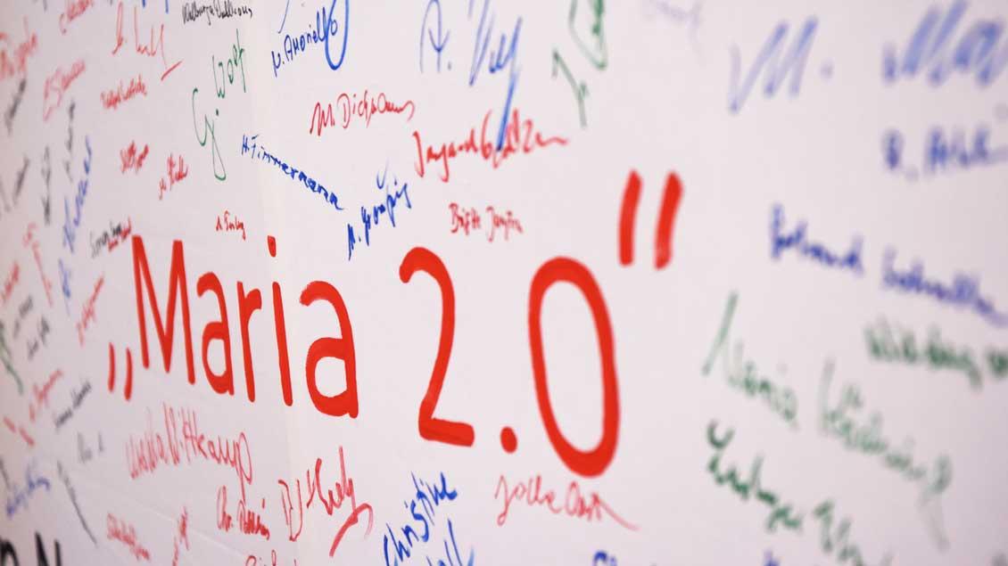"""Unterschriften für """"Maria 2.0"""""""