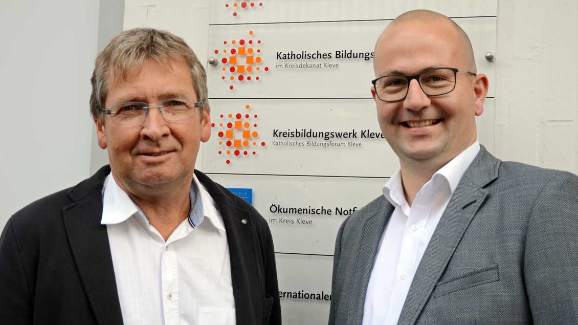 Hubert Lemken und Patrick de Vries Foto: Jürgen Kappel