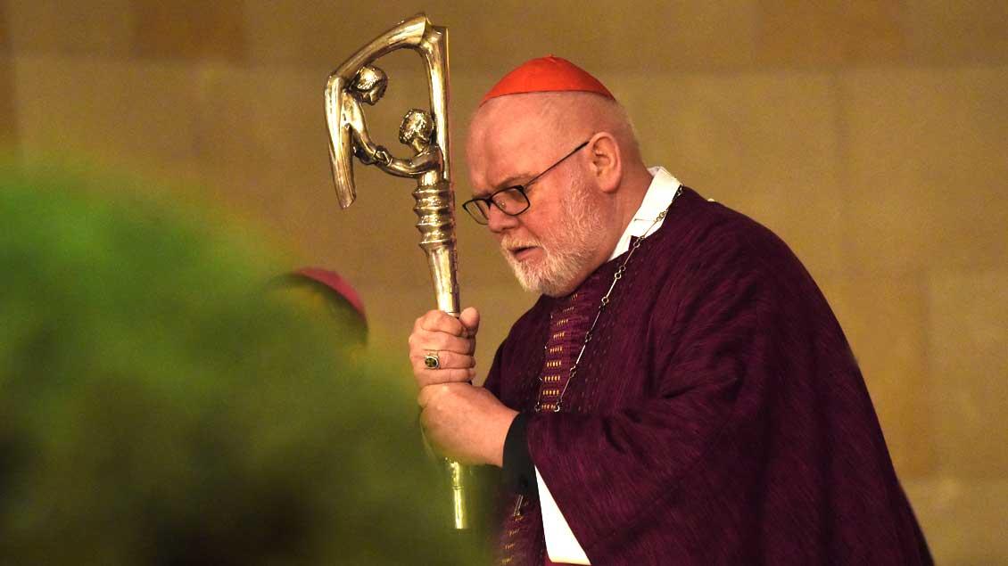 Kardinal Reinhard Marx. Archiv-Foto: Michael Bönte
