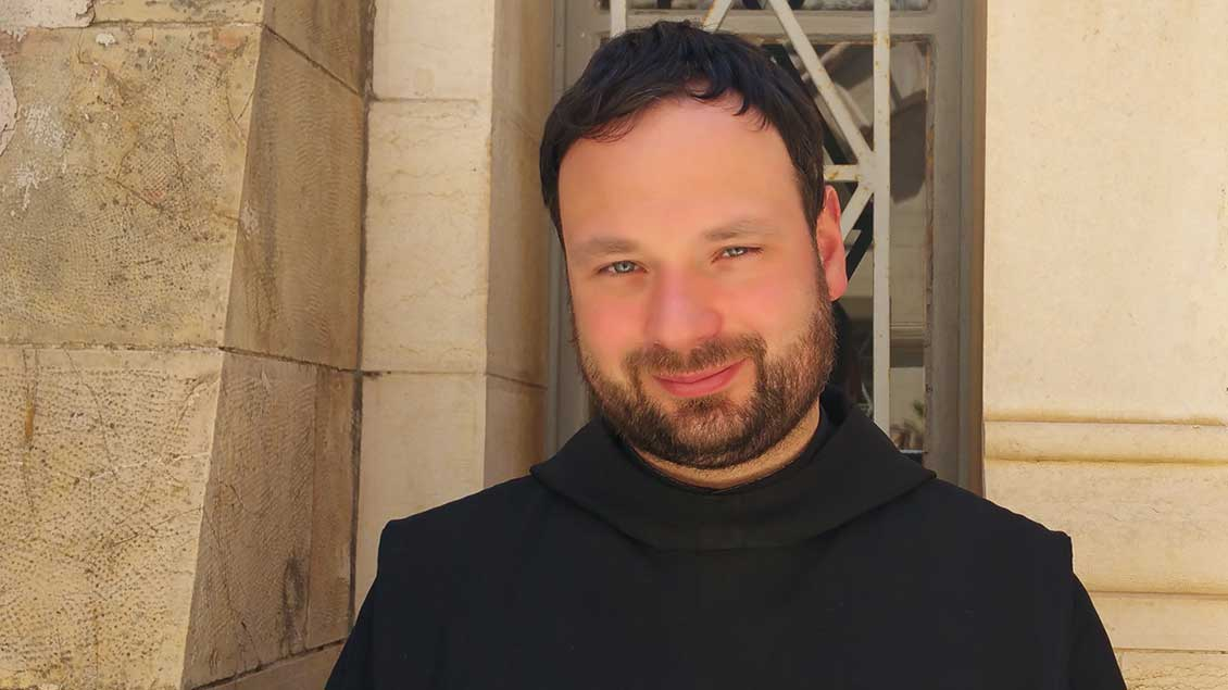 Der Benediktiner Nikodemus Schnabel.