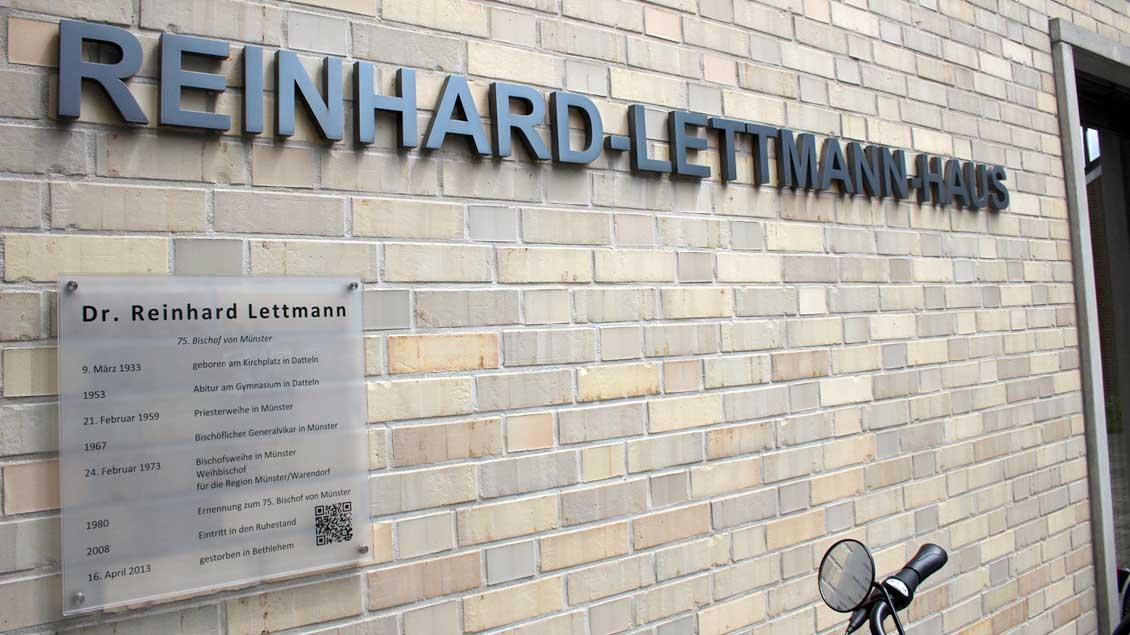 Das Reinhard-Lettmann-Haus in Datteln