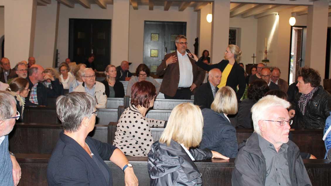 Diskussion in Heilig-Geist-Münster nach Predigt-Eklat