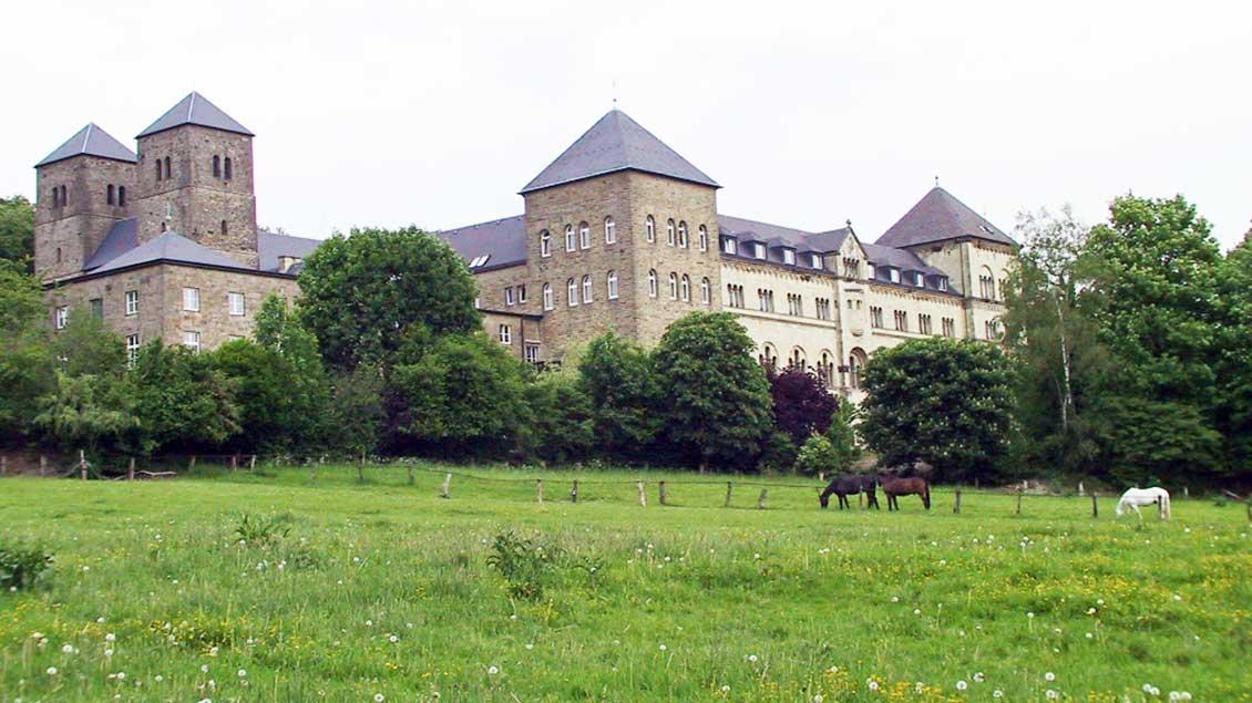 Außenansicht von Kloster Gerleve bei Coesfeld.