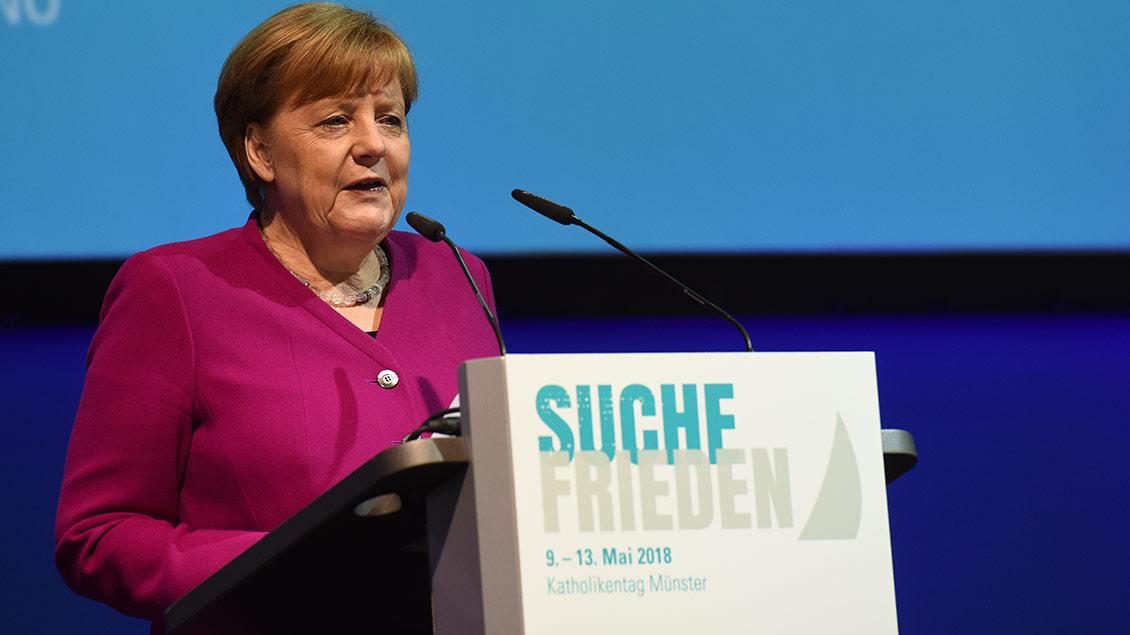 Bundeskanzlerin Angela Merkel  Archivbild: Michael Bönte