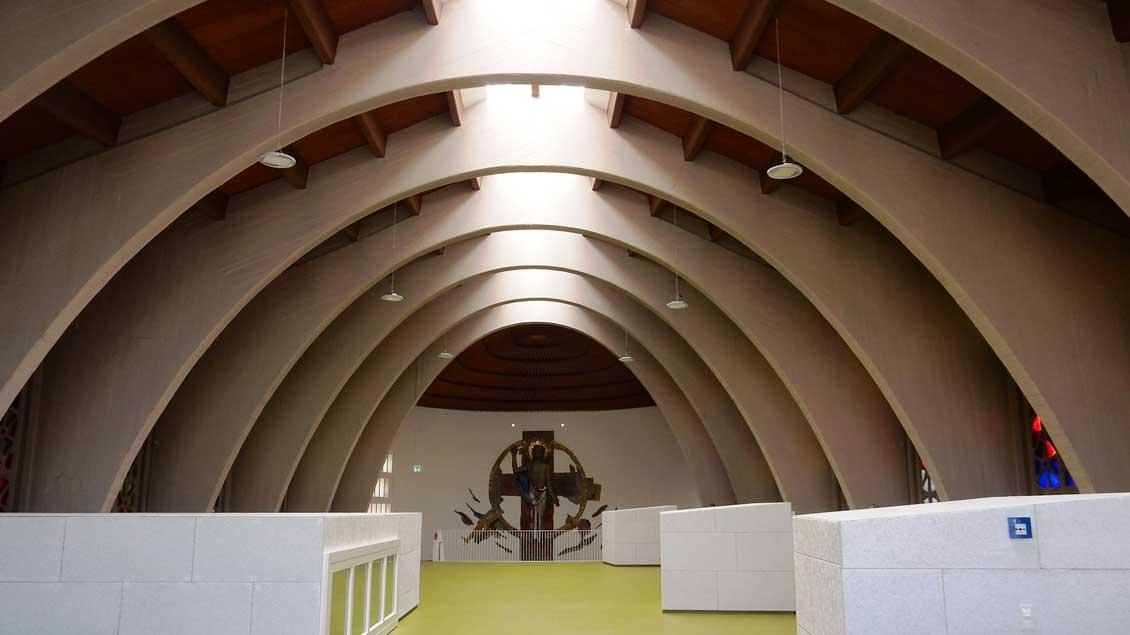 Die Innenspielfläche im Obergeschoss. | Foto: Claudia Maria Korsmeier