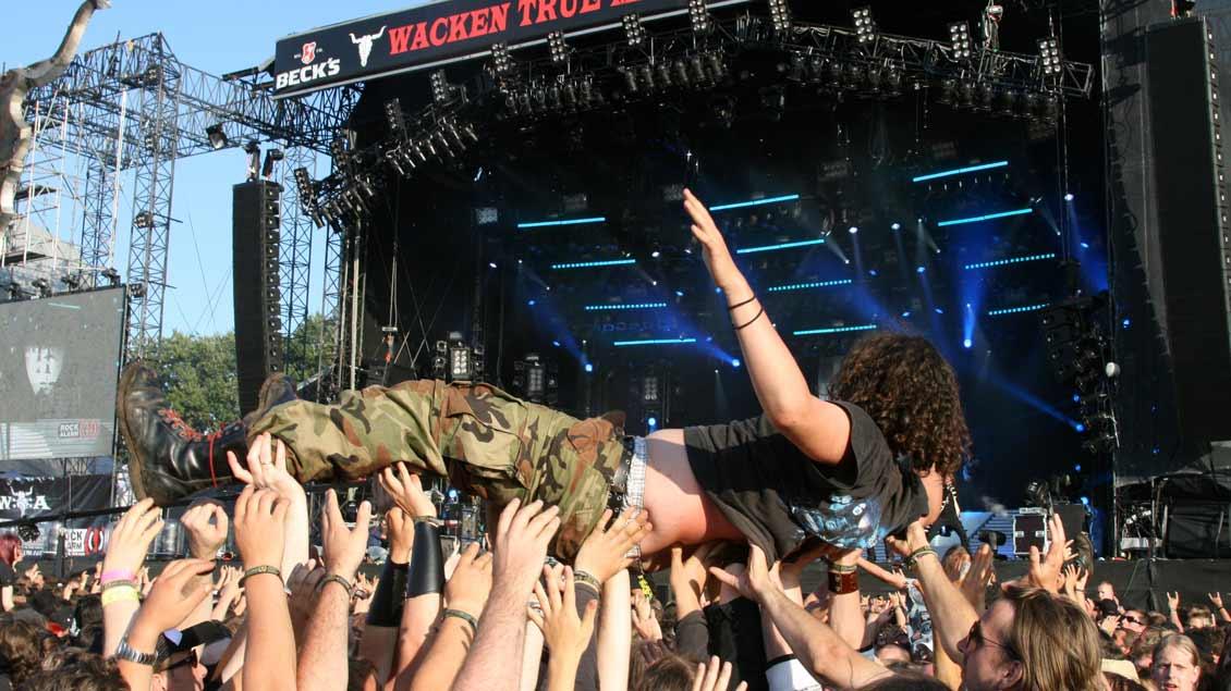 Metal-Fans beim Wacken Open Air