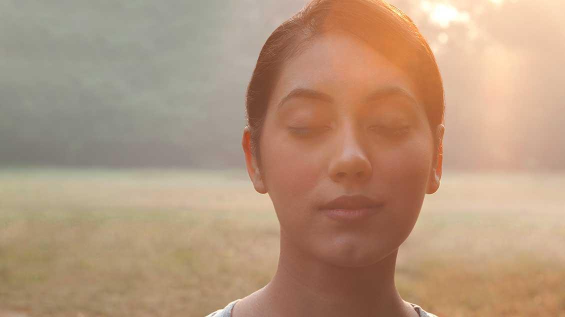 Was sieht man, wenn man die Augen schließt? Alles, das große Glück, unter anderem.