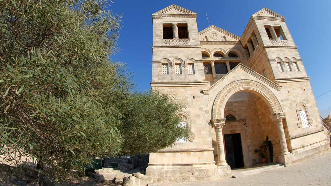 Kirche auf dem Berg Tabor