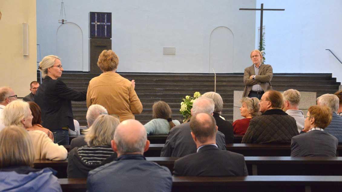 Gesprächsabend in der Heilig-Geist-Kirche in Münster