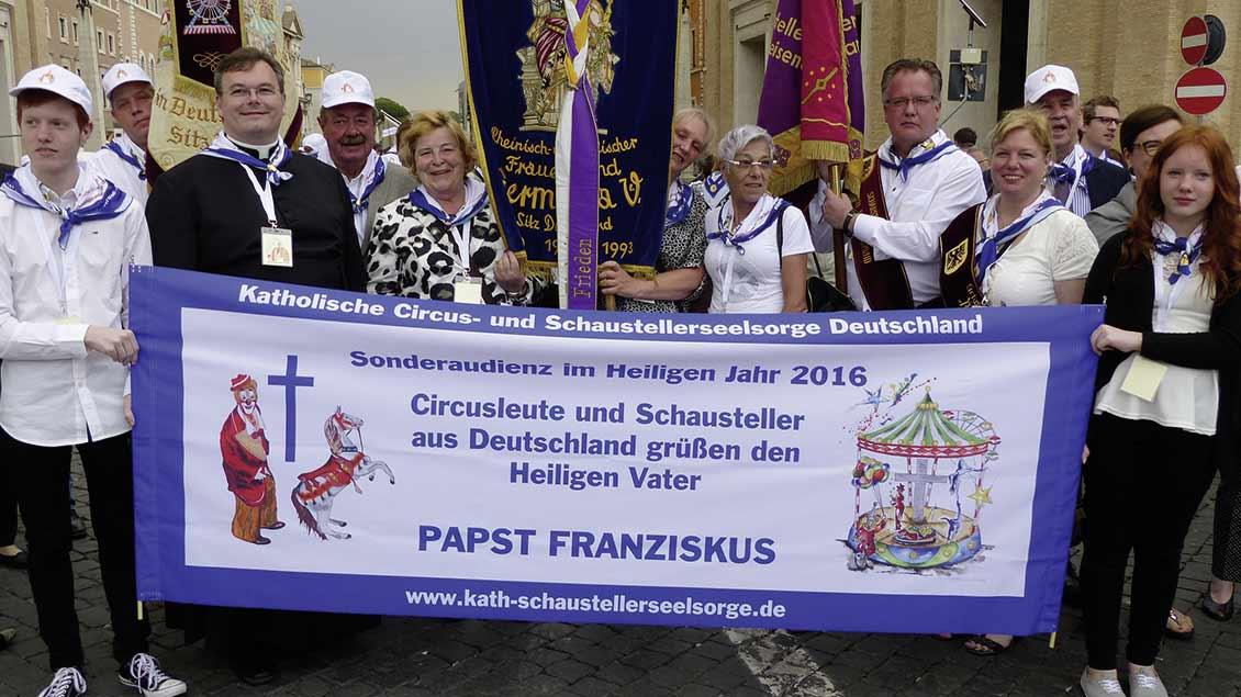Romwallfahrt der Schaustellerseelsorge 2016. | Foto: kath-css